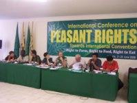 Uluslar arası Köylü Hakları Konferansı Sonuç Bildirgesi