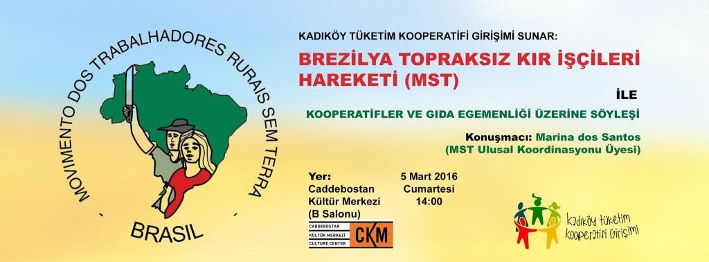 Kadıköy'de MST ile kooperatifler üzerine söyleşi yapıldı