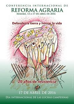 La Via Campesina Brezilya'da Uluslararası Tarım Reformu Konferansı düzenliyor