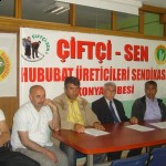 Hububat SEN Konya'da  Örgütlendi.