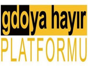 GDO'ya Hayır Platformu :