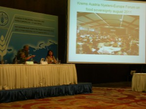 FAO Bakü Sivil Toplum Müzakere Toplantısı sonuç bildirisi