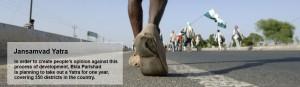 Hindistan'da topraksızlar başkente yürüyor