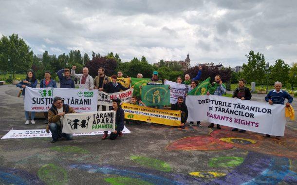 Avrupa çiftçileri Romanya'dan seslendi: Köylüler haklarıyla köylüdür!