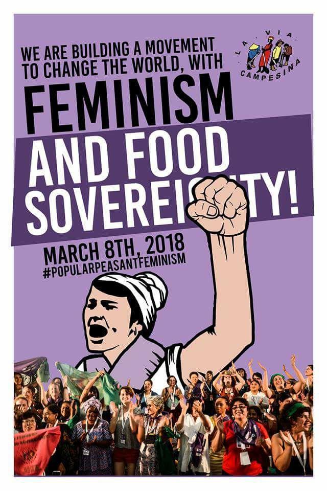 Kır ve kentlerdeki kadın mücadelesini selamlıyoruz!