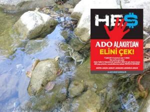 Antalya'nın dereleri mücadeleye çağırıyor