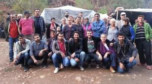 Ahmetler'de HES'e karşı çadır direnişi