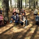 Köylülerden baltalı ağaç nöbeti