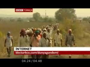 Hintli çiftçilerin GDO öfkesi/Video