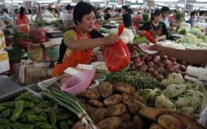 Çin'de gıda enflasyonu yüzde 10,3