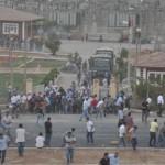 Derik'teki çiftçilerin eylemi üçüncü gününde