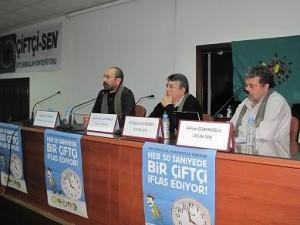 Çiftçi-Sen eğitici eğitimi Ankara'da yapılıyor