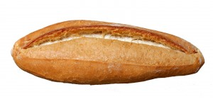 Ekmek ve çayla besleniyoruz