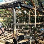 Fatsa'da siyanüre karşı kurulan direniş çadırı yakıldı