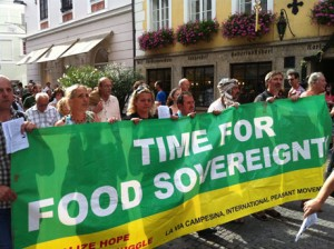 Gıda Egemenliği Zamanı