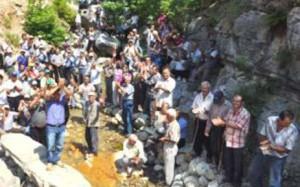 Antalya'da köylülerden Hes'e karşı eylem