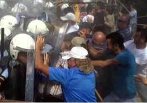 Gerze'de termik santral istemeyen köylülere saldırı