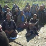 Manisa'da köylüler mermer ocağına karşı nöbette