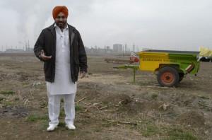Gürcistan çiftlikleri Hint 'istilasıyla' karşı karşıya