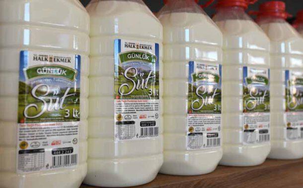 Ankara'da da Halk Süt satışı başladı