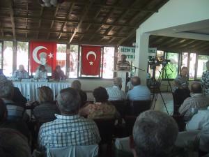 Maden Yasası'na ilişkin zeytin sektör temsilcileri toplandı
