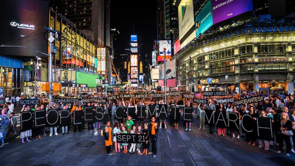 New York'ta Halkın İklim Yürüyüşü /  Ali K. Saysel