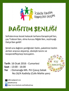 Kadıköy Tüketim Kooperatifi 4. Paket'i Şenlikle Dağıtıyor!