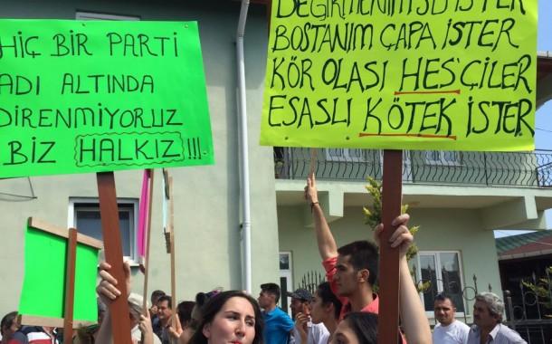 Kandıra'da köylüler baraja karşı direniyor