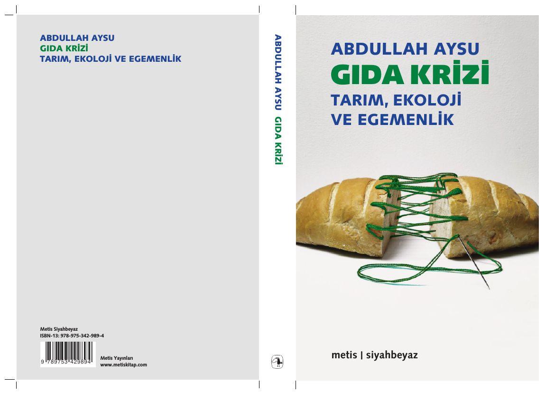 Kitap : Gıda Krizi - Abdullah Aysu
