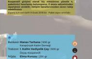 KADIKÖY TÜKETİM KOOPERATİFİ 4. SİPARİŞ PAKETİ