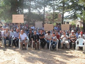 """Bursa'da köylüler, """"Termik Santral istemiyoruz"""" dedi"""