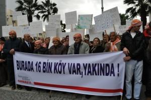 İzmirli köylüler köylerinin şehirlere bağlanmasını istemiyor