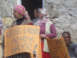 Karaburun'da RES'e karşı mücadele