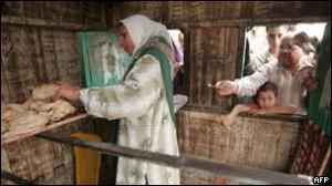 Mısır kırsalında sandık demokrasisi