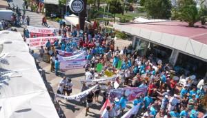 "Seferihisar'da ""Orkinos mezbahasına"" protesto"