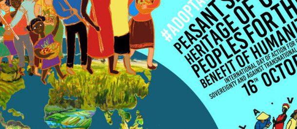 """Gıda Egemenliği Kurmanın Bir Yolu """"Köylü Tohumları, İnsanlığın Hizmetinde Bir Halk Mirası"""""""