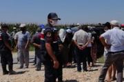 Salihli Çapaklı'da santral protestosuna jandarma müdahalesi