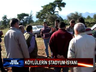 Köylülerin stadyum isyanı