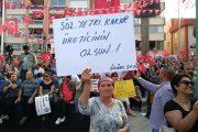 Üzüm mitingi Alaşehir'de yapıldı
