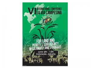 Via Campesina 6. Uluslararası Konferansı Endonezya'da yapılacak