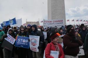 ABD tarihinin en büyük iklim eylemi Washington D.C'de gerçekleştirildi