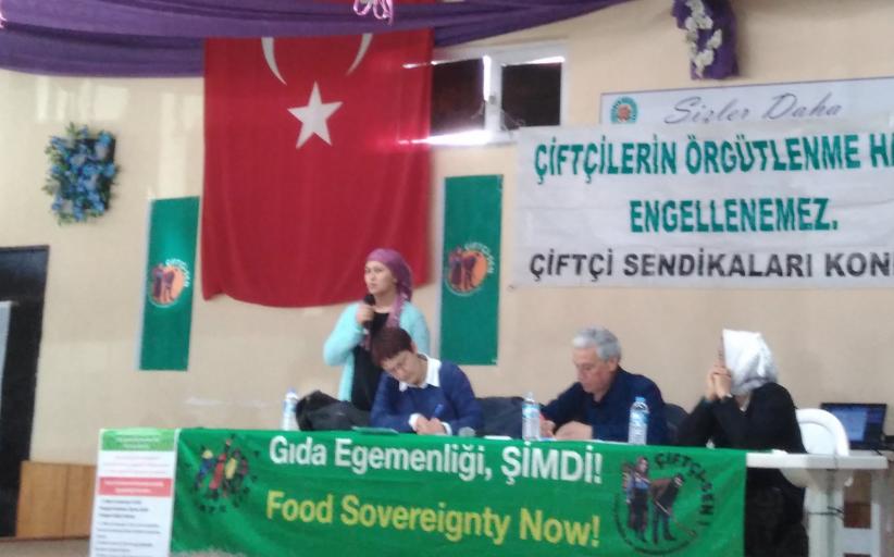 Üzüm üreticilerinin sorunları ve Gıda Egemenliği Forumları'nın ilki Yeleğen 'de yapıldı