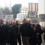 Zonguldak'ta köylüler valiliğe yürüdü